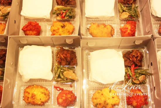 nasi box gule rendang
