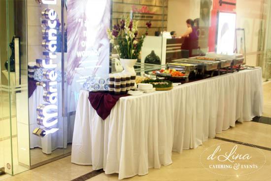Catering Prasmanan Anniversary Marie France Bodyline