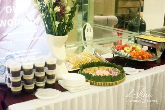 Catering Prasmanan di Mall