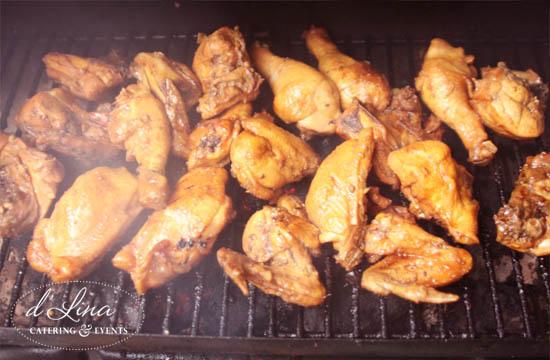 ayam bakar dLina Catering