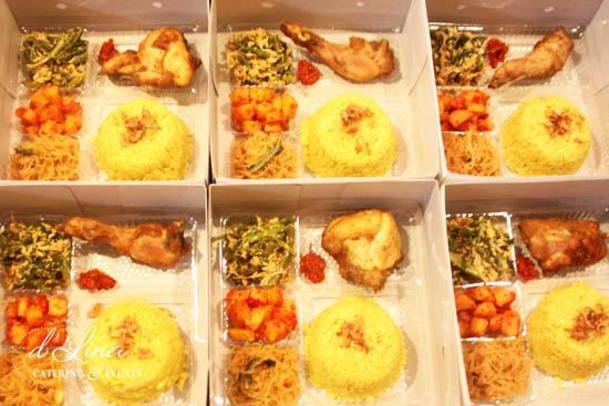 nasi kuning box di bintaro
